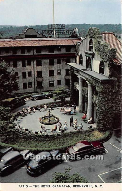 Patio Hotel Gramatan Bronxville Ny 1955