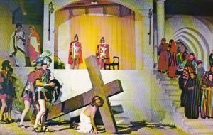 A Scene From The Great Passion Play Eureka Springs Arkansas