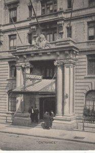 NEW YORK CITY , 1908 , Hotel Woodstock , Entrance