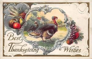 Thanksgiving Postal Used Unknown