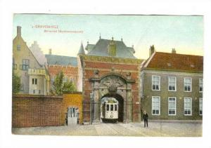 Binnenhof (Stadhouderspoort), 's-Gravenhage (South Holland), Netherlands, 190...