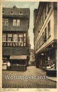 Frankfurt A M Germany, Deutschland Postcard lange Jsheirn  lange Jsheirn