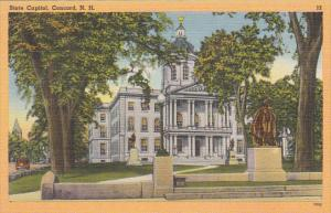 New Hampshire Concord State Capitol Building