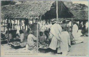 80167 -  MADAGASCAR -  Vintage Postcard -  TANANARIVE:  Zoma  Market