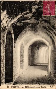 CPA  Orange - le Théátre Antique, un Couloir   (512330)
