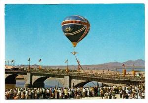 Balloon, London Bridge Grand Opening, Lake Havasu City , Arizona, 1971