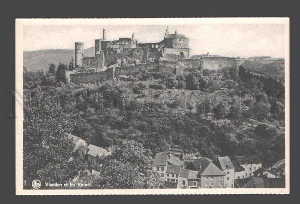 084335 LUXEMBOURG Vianden et Les Ruines Vintage PC