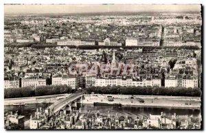 Postcard Modern Lyon Vue Generale From Taking Fouviere