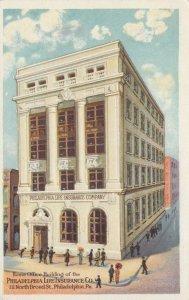 PHILADELPHIA , Pa. , 1900-10s ; Philadelphia Life Insurance Company