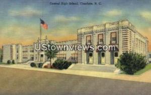 Central High School Charlotte NC Unused