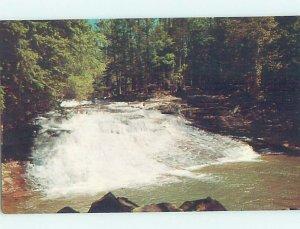 Chrome WATERFALL SCENE Henryville - Near Stroudsburg & Mount Pocono PA AG3792@