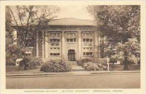 Indiana Greencastle Administartion Building De Pauw University Albertype