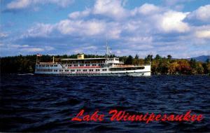 New Hampshire Lake Winnipesaukee M/S Mount Washington