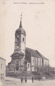 NEUILLY L´EVEQUE, Haute Marne, France, 1900-1910´s; Eglise Vue De 3/4 Sud