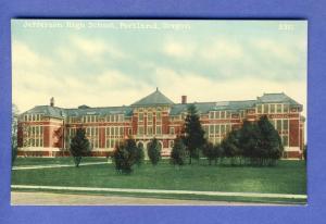 Portland, Oregon/OR Postcard, Jefferson High School