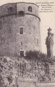 SAINT-JEAN-sur-MER, The Madona at Saint-Hospice Point, NIce, Alpes Maritime, ...