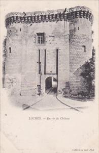 LOCHES, Indre Et Loire, France, 1900-1910's; Entree Du Chateau
