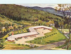 Unused Pre-1980 PERKINS MOTEL Littleton New Hampshire NH s4920