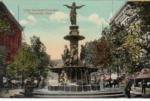CINCINNATI , Ohio, 1900-10s ; Tyler Davidson Fountain