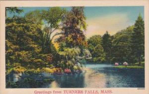 Massachusetts Greetings From Turners Falls