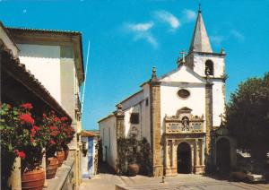 Portugal Obidos Principal Church Of Saint Mary