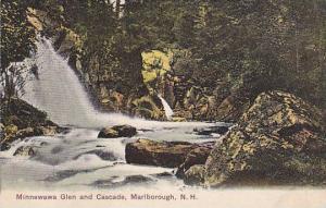 Minnewawa Glen and Cascade, Marlborough, New Hampshire,  PU-00-10s