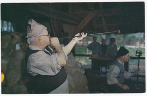 Glassmaking, Blowing Glass, JAMESTOWN, Virginia, 40-60's