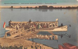 B71527 Serbia Serbian Banat kevevara temeskubin Motorboat on Danube in Excursion