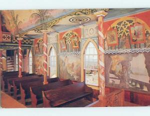 Unused Pre-1980 CHURCH SCENE Honaunau - Near Kailua Kona Hawaii HI A6087