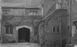 Hampton Court Palace A Rustic Corner Postcard