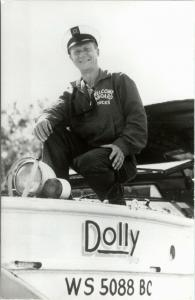 Wisconsin Dells - RPPC -  Captain of the Dolly
