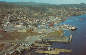 NANAIMO, British Columbia, Canada, 50-60s; Air View