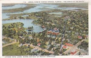 Florida Tarpon Springs Aerial View Of Springs The Venice Of The South Bayous ...