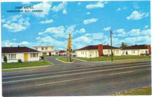 2400 Motel  2400 Kingsway, Vancouver British Columbia BC Canada, Chrome