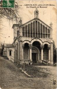 CPA Sainte Foy Les Lyon - La chapelle de Beaunant (572375)