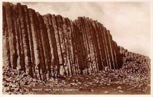 Northern Ireland Giants Causeway, Giants Loom, Real Photo