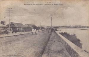 Boulevard De La Republique, Souvenir De Djibouti, Africa, 1900-1910s