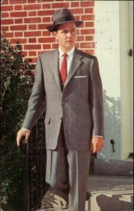 1950s Men's Fashion Suits at $54.50 - Bob Work Lancaster OH Postcard
