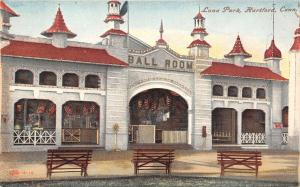 Hartford Connecticut~Luna Amusement Park~Ball Room Close Up~1910 IPCC Postcard