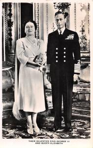 Their Majesties King George VI and Queen Elizabeth