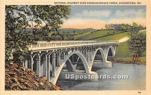 National Highway, Concocoheague Creek Hagerstown MD Unused