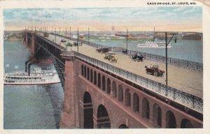 ST. LOUIS, Missouri, PU-1922; Eads Bridge