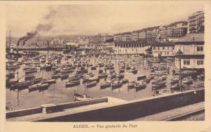 ALGER.- Vue generale du Port , 10-30s