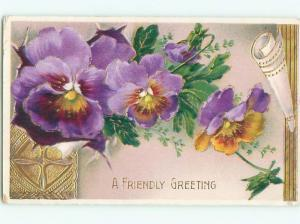 Divided-Back BEAUTIFUL FLOWERS SCENE Great Postcard AA2700