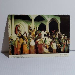 Vintage Postcard The Passion Play Jesus Heals 1981 Eureka Springs Arkansas 1981