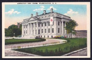 Red Cross Headquarters Washington DC unused c1915's