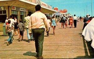 Delaware Rehoboth Beach Strolling The Boardwalk