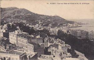 Vue Sur Bab-el-Oued Et N.-D. d'Afrique, Alger, Algeria, Africa, 1900-1910s