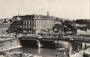 Romania Oradea bridge over Cris river
