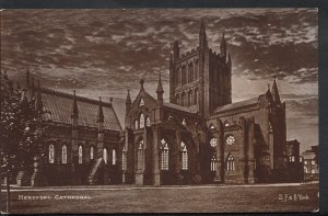 Herefordshire Postcard - Hereford Cathedral      RS4591